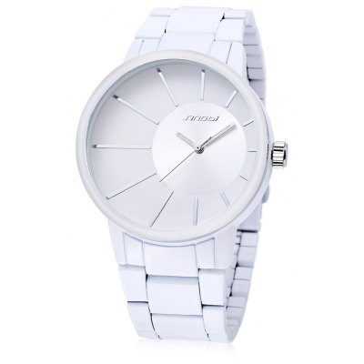 SINOBI 9338 Male Fashion Casual Watch with Stainless Steel Strap