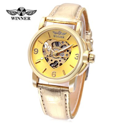 WINNER F2016090601 Women Auto Mechanical Watch