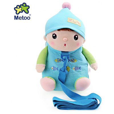 Metoo Cartoon Bag Backpack Toy for Baby