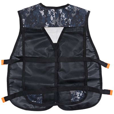 Children Adjustable Tactical Vest with Storage PocketOutdoor Fun &amp; Sports<br>Children Adjustable Tactical Vest with Storage Pocket<br><br>Age Range: &gt; 3 years old<br>Product weight: 0.198 kg<br>Package weight: 0.284 kg<br>Product Size(L x W x H): 57.00 x 48.00 x 1.00 cm / 22.44 x 18.9 x 0.39 inches<br>Package Size(L x W x H): 26.00 x 16.00 x 4.00 cm / 10.24 x 6.3 x 1.57 inches<br>Package Contents: 1 x Tactical Vest