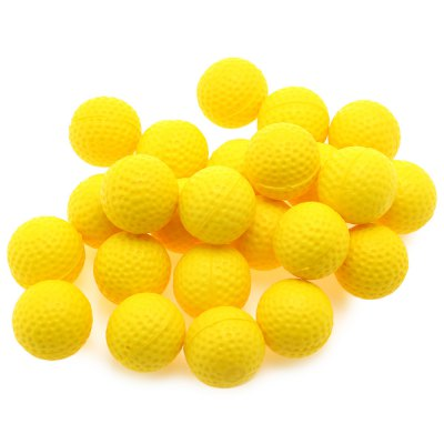 100pcs PU Foam Compatible Gun Bullet BallOutdoor Fun &amp; Sports<br>100pcs PU Foam Compatible Gun Bullet Ball<br><br>Age Range: &gt; 3 years old<br>Material: PU Foam<br>Type: Toy Machine Gun<br>Product weight: 0.170 kg<br>Package weight: 0.195 kg<br>Package Size(L x W x H): 26.00 x 11.00 x 7.00 cm / 10.24 x 4.33 x 2.76 inches<br>Package Contents: 100 x Bullet Ball