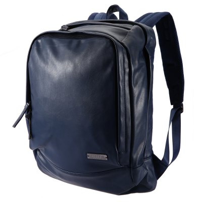 OSOCE Male Business Backpack Canvas Bag with Pocket