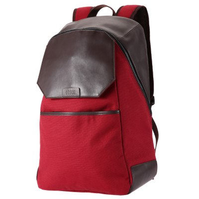 OSOCE Male Business Travel Backpack Canvas Bag Briefcase