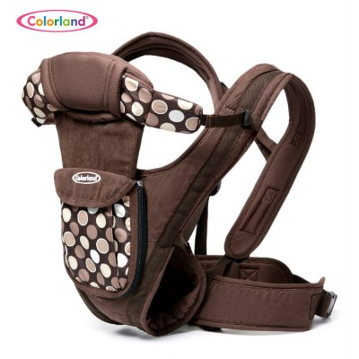Colorland Printed Baby Carrier with Pocket