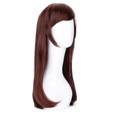 long-red-brown-pear-volume-wigs