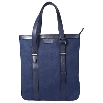 OSOCE Male Business Handbag Canvas Briefcase for Laptop