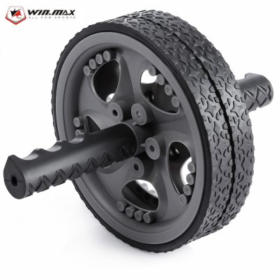 WIN MAX Abdominal Muscle Gear Exercise Wheels Roller