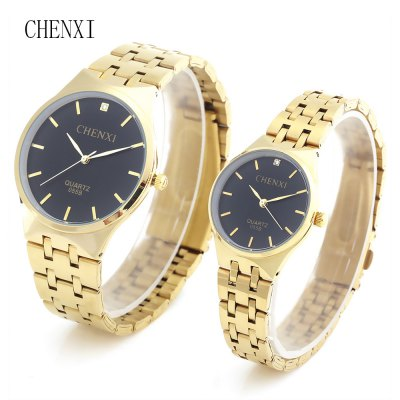 CHENXI 055B Couple Quartz Watch