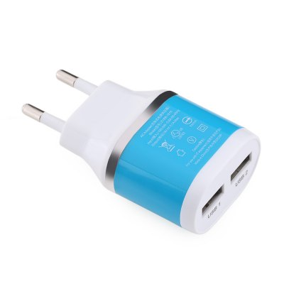 Dual USB Port Charger Adapter