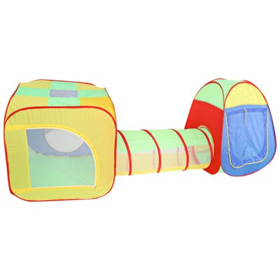 Children Portable Foldable Pop Up Tunnel Tent