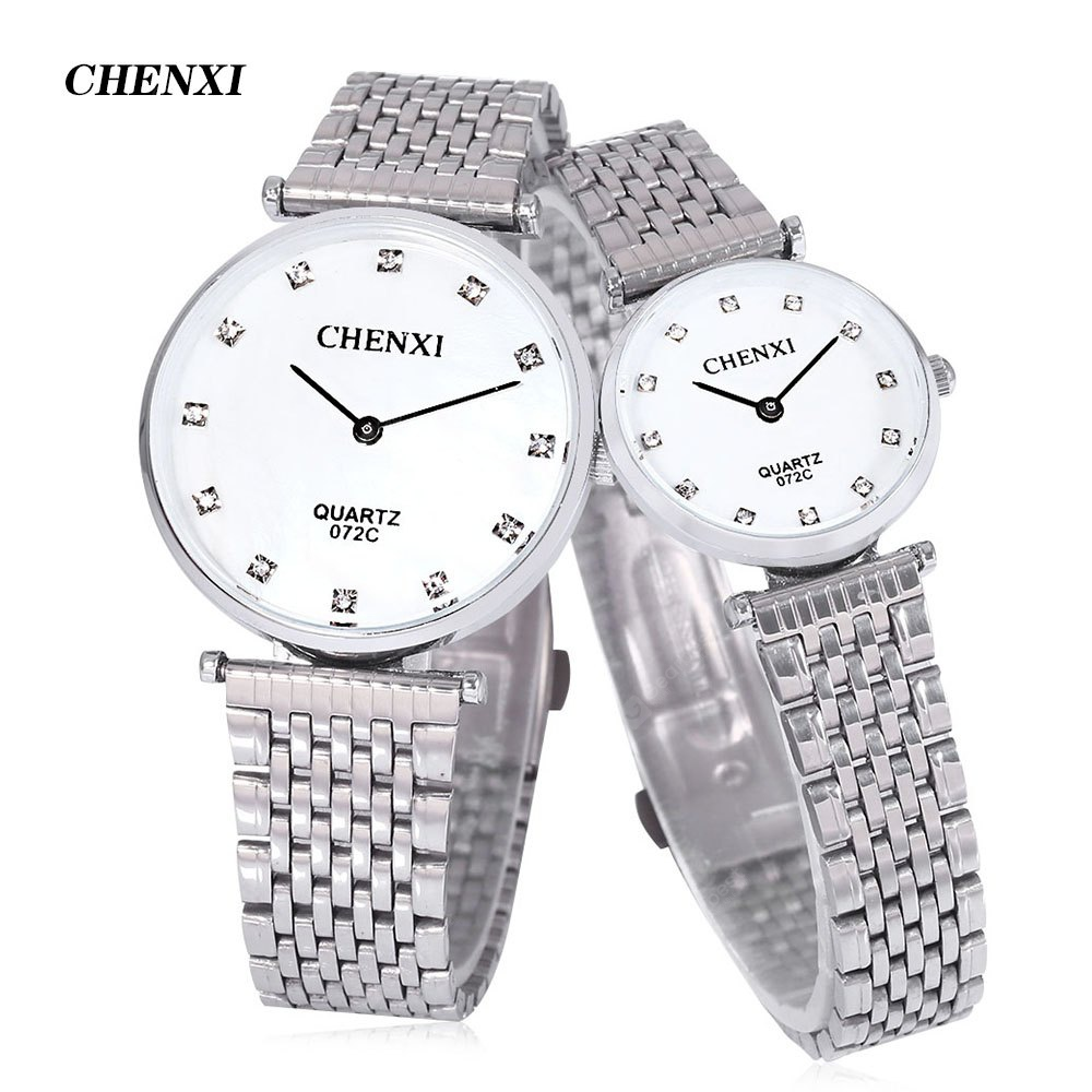 CHENXI 072C Couple Quartz Watch