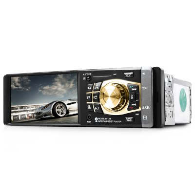 4032B 4.1 inch Vehicle-mounted MP5 Car Multimedia PlayerCar DVD Player<br>4032B 4.1 inch Vehicle-mounted MP5 Car Multimedia Player<br><br>Color: Black<br>Digital Media Format: DVD-R/RW<br>OSD Language: English<br>Resolution: 440 x 240<br>Special features: Bluetooth,Charger,FM Transmitter<br>Product weight: 0.467 kg<br>Package weight: 0.652 kg<br>Package Size(L x W x H): 21.00 x 18.50 x 8.00 cm / 8.27 x 7.28 x 3.15 inches<br>Package Contents: 1 x Car MP5 Player, 1 x English User Manual, 2 x Remote Control, 2 x Cable