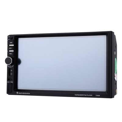7060B 7 inch Car Audio Stereo MP5 PlayerCar DVD Player<br>7060B 7 inch Car Audio Stereo MP5 Player<br><br>Digital Media Format: CD,JPEG,MP3,MP4,WMA<br>Display size: 7<br>Install Size: 2 Din<br>OSD Language: English<br>Resolution: 1080P<br>Special features: Bluetooth,Mobile phone,Touch Screen<br>Voltage: 12V<br>Product weight: 0.501 kg<br>Package weight: 0.878 kg<br>Product Size(L x W x H): 17.80 x 10.00 x 6.30 cm / 7.01 x 3.94 x 2.48 inches<br>Package Size(L x W x H): 20.50 x 15.00 x 11.50 cm / 8.07 x 5.91 x 4.53 inches<br>Package Contents: 1 x 7060B 7 inch Car Audio Stereo MP5 Player, 1 x English User Manual, 1 x Controller, 4 x Cable, 1 x Camera, 2 x Screw