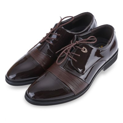 Junsite Gentleman Casual Pointed Toe Lace Up Leather ShoesFormal Shoes<br>Junsite Gentleman Casual Pointed Toe Lace Up Leather Shoes<br><br>Available Size: 40, 41, 42, 43, 44<br>Closure Type: Lace-Up<br>Embellishment: None<br>Gender: For Men<br>Insole Material: EVA<br>Lining Material: PU<br>Occasion: Dress<br>Outsole Material: Rubber<br>Package Contents: 1 x Pair of Men Leather Shoes<br>Pattern Type: Others<br>Season: Spring/Fall, Summer<br>Shoe Width: Medium(B/M)<br>Toe Shape: Pointed Toe<br>Toe Style: Closed Toe<br>Upper Material: PU<br>Weight: 1.488kg