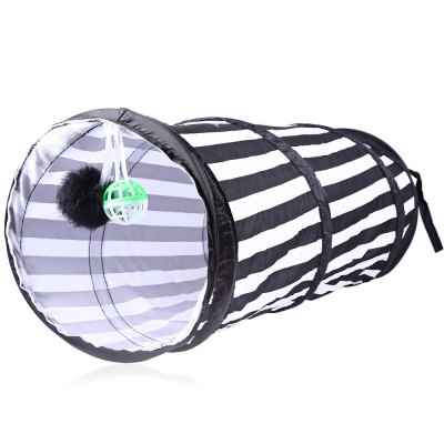Polyester Folding Tent Cat Playing Tunnel