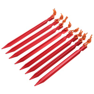 SHINETRIP Tent Stake Peg with Reflective Pull Cord