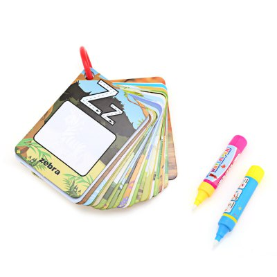 English Learning Card Drawing Book for Kid