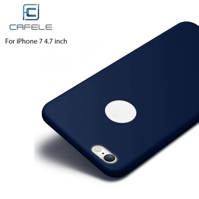 CAFELE Frosted Silicone Solid Color Soft Case for iPhone 7