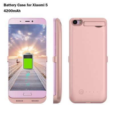 4200mAh Backup Battery Cover for Xiaomi 5