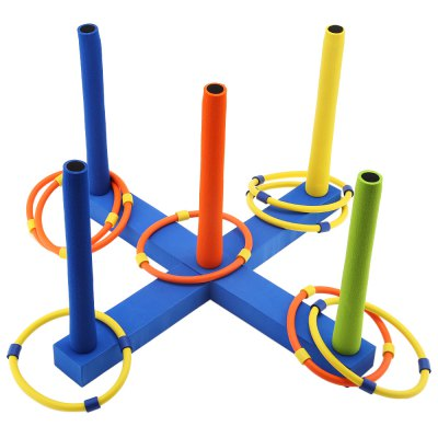 WTWY Children Outdoor Fun Sports Cast Ring Layer Up Toy