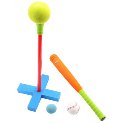 WTWY Kids Safe Colorful Baseball Set Outdoor Sports Game