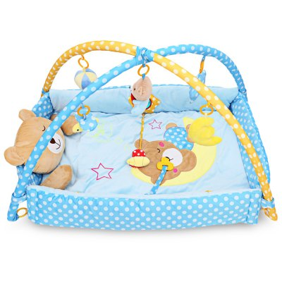 Baby Play Mat Bear Folding Crawling Blanket