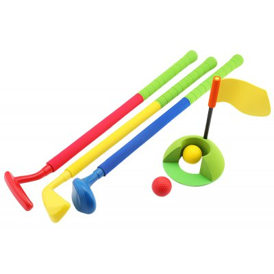WTWY Kids Colorful Golf Set Outdoor Sports Game Toy