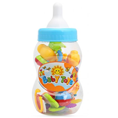 SL94802 - 4 Baby Hand Shake Bell Ring Rattle Toy Set