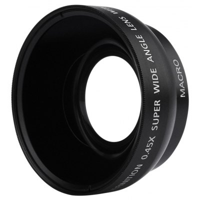 0.45X 49MM Wide Angle Macro Camera Lens