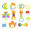cheap SL94802 - 4 Baby Hand Shake Bell Ring Rattle Toy Set