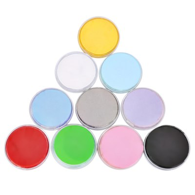 10 Colors Face Make-up Cream