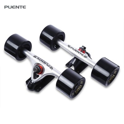PUENTE 2pcs Durable 7 inch Skateboard Truck Magnesium Alloy