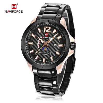 Naviforce 9084 Male Quartz Watch