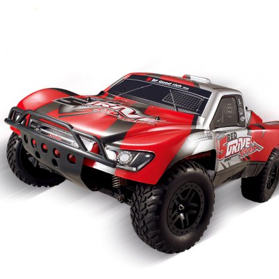 HUANQI 727 1:10 Scale 27Hz 4CH 4WD 35km/h Remote Control Electric Car RTR