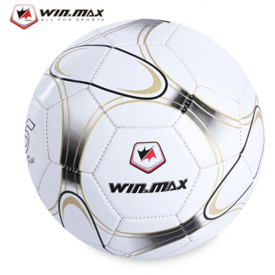 WIN MAX Machine Sewing PVC Soccer Ball Football