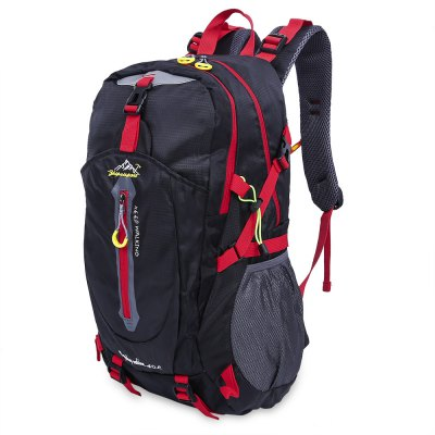 Patchwork Water Resistant Portable Bag Outdoor BackpackBackpacks<br>Patchwork Water Resistant Portable Bag Outdoor Backpack<br><br>Available Color   : Orange, green, blue, red, black<br>Closure Type: Zipper<br>Embellishment: Letter<br>External Material: Nylon<br>Gender: For Men,For Women<br>Handbag Size: Medium(30-50cm)<br>Handbag Type: Backpack<br>Hardness: Soft<br>Interior: Interior Compartment, Cell Phone Pocket<br>Internal Material: Polyester<br>Package Contents: 1 x Backpack<br>Package size (L x W x H): 28.00 x 15.00 x 17.00 cm / 11.02 x 5.91 x 6.69 inches<br>Package weight: 0.632 kg<br>Pattern Type: Patchwork<br>Product weight: 0.620 kg<br>Size(CM)(L*W*H): 31.2 x 22.5 x 52 cm / 12.28 x 8.86 x 20.47 inch<br>Strap Length: Handle length: 19.5cm / 7.68 inch, range of backpack strap: 51 - 73 cm / 20.08 - 28.74 inch<br>Style: Casual