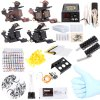 Complete Tattoo Kit 40 Color Inks Power Supply