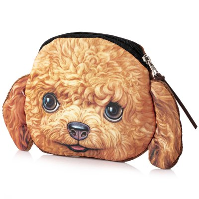 Cartoon Dog Zipper Design Unisex Workmanship Change PurseCoin Purse &amp; Card Holder<br>Cartoon Dog Zipper Design Unisex Workmanship Change Purse<br><br>Gender: Unisex<br>Style: Fashion<br>Closure Type: Zipper<br>Pattern Type: Character<br>Main Material: Nylon<br>Length(CM): 12cm / 4.72inch<br>Width: 12cm / 4.72inch<br>Height: 1.5cm / 0.59inch<br>Package Contents: 1 x Change Purse