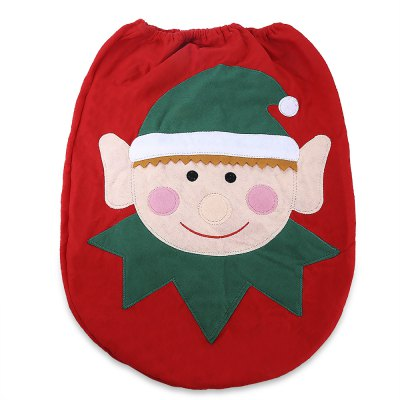 Santa Spirit Toilet Seat Cover