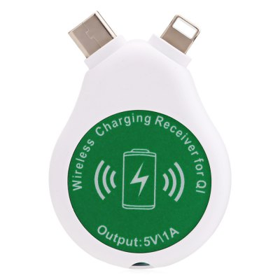 3 in 1 Qi Wireless Charging Receiver for Smart Phones