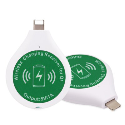 2 in 1 Qi Wireless Charging Receiver