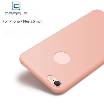 CAFELE Frosted Silicone Solid Color Soft Case for iPhone 7 Plus