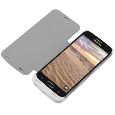 4200mAh Rechargeable Battery Case for Samsung Galaxy S6