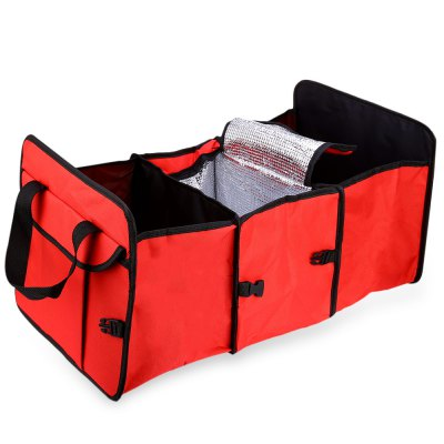 Collapsible Fabric Storage Box Car Trunk Organizer