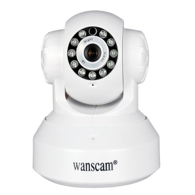 Wanscam HW0024 720P 1.0MP P2P WiFi Indoor Wireless IP Camera with Night Vision