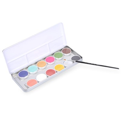 12 Color Tattoo Face Body Paint Oil Painting