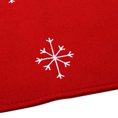 Christmas Snowflake Pattern Food Placemat