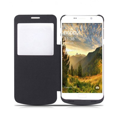 4200mAh Rechargeable Battery Flip Case for Samsung Note 5