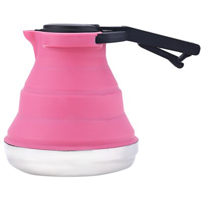 1.5L Portable Collapsible Tea Kettle for Outdoor Traveling