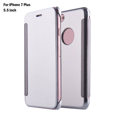 Mirror Flip Cover PC Case for iPhone 7 Plus 5.5 inch